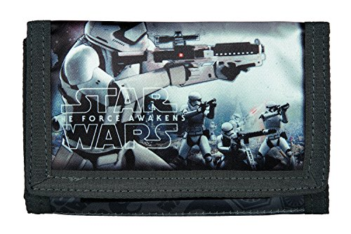 "UNDERCOVER Geldbeutel ""Star Wars Movie"" (SWHZ7008), Maße: ca. (B)140 x (T)10 x (H)90 mm"