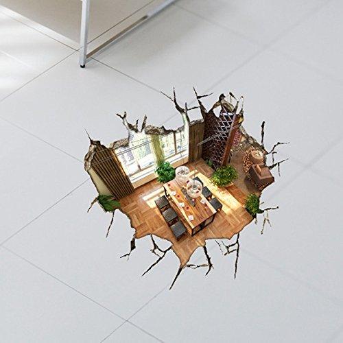 bluelover-sous-sol-3d-wall-decals-23-pouces-plancher-amovible-trou-mur-art-stickers-home-decor