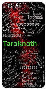 Taraknath (Lord Shiva) Name & Sign Printed All over customize & Personalized!! Protective back cover for your Smart Phone : Xiaomi Redmi 3s Prime