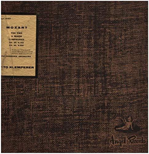 Two Symphonies In G Minor: No. 25, K. 183 - No. 40, K. 550 [Vinyl LP]
