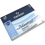 Canson - 200807319 - Montval - Bloc Papier Aquarelle - Blanc Naturel