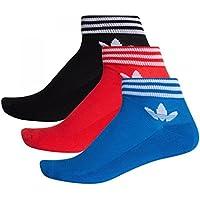adidas Trefoil Set de 3 Socquettes Mixte