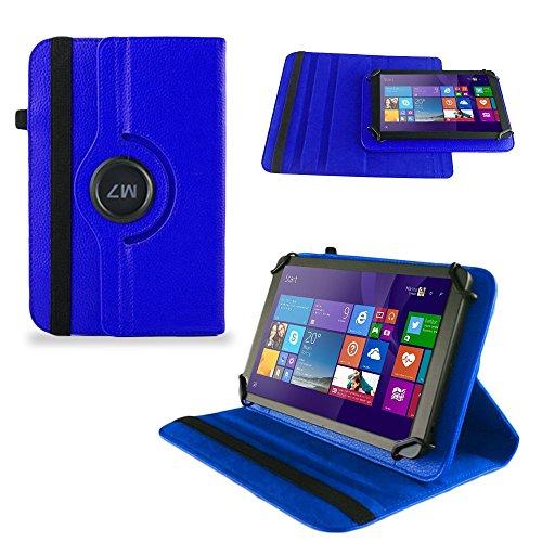 UC-Express Tasche Hülle Cover für Odys Wintab GEN 8 Case Tablet Schutzhülle Bag, Farben:Blau
