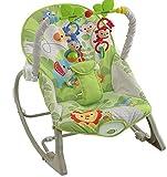 #8: Webby Rainforest Infant To Toddler Rocker