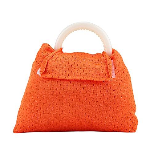 Acogedor - Envoltura para bebé - mejor portabebés - ligera, ligera y transpirable, 6 colores - Cinturón postal - cubierta de lactancia - gran portabebés naranja naranja