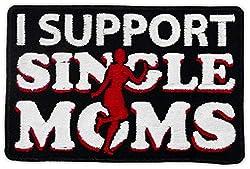 Aufnäher Aufbügler Patch Support Single Moms