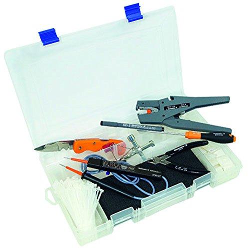 Weidmüller Promopack klein mit Abisolierer Strip 6 - Seitenschneider - Kreuzschlitzschraubendreher - Kabelmesser - Schaltschrankschlüssel - Set 133-tlg