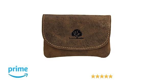 e144c8aa01 Greenburry Vintage custodia portachiavi pelle 12 cm marrone: Amazon.it: Scarpe  e borse
