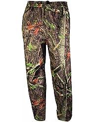 Highlander Tempest–Impermeable over-trousers Árbol Deep camuflaje Pesca Caza