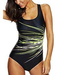 1c6e43fff6fb4 Suchergebnis auf Amazon.de für: Badeanzug Gr 52 - Grün: Bekleidung