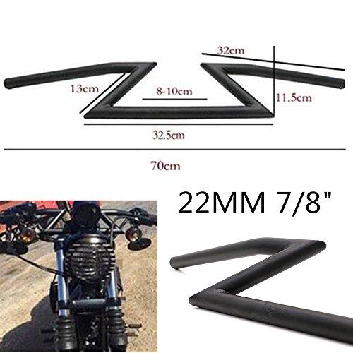"""1/"""" 7//8/'/'  Motorrad Lenker Z-Lenker Z Bar Für Yamaha Suzuki Honda Chopper"""