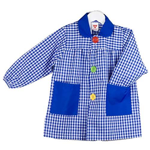 KLOTTZ 4887-901B-AZUL-3 - BABI CUADROS GUARDERIA niños color: AZUL talla: 3