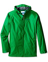 Columbia Boy chaqueta impermeable para mujer, Niños, Water Tight, Fuse Green
