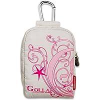 Golla Starlet Digital Camera Bag - Beige and Pink