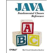 Java Fundamental Classes Reference (en anglais)