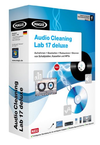MAGIX Audio Cleaning Lab deluxe 17 - Minibox