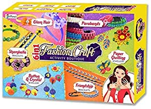 SARTHAM, Fashion Craft - 6 in 1 Activity Boutique, Age 6+ (for Girls)