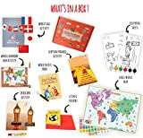 #9: Learning Toys for kids -World Activity Box (4-8 years)