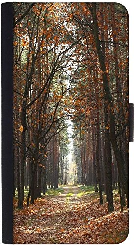 Snoogg Autumndesigner Protective Flip Case Cover For Htc M8