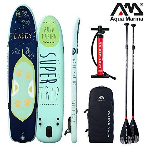 Aqua Marina Super Trip aufblasbares SUP – ISUP, Stand U… | 04260452064562