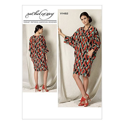 Vogue Patterns V1482 Misses' Batwing/Dolman-Sleeve Dress, XY (All Sizes) by Vogue Patterns -