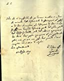 Lettera che attesta l'impossibilita' di ottenere un documento legato ad i beni famigliari per la data promessa.