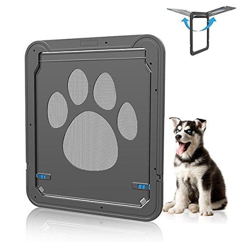 Haustier Bildschirm Tür,magnetische selbstschließende Bildschirmtür mit Sperrfunktion, Fit für Hund Katze, 12,2