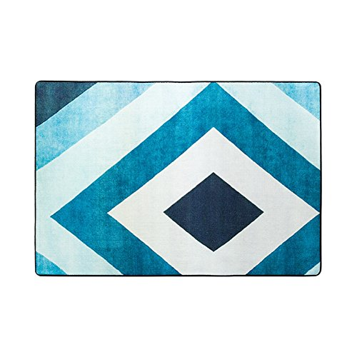 DHWHT HWH Teppich, Persönlichkeit Kreative Wohnzimmer Fuß Pad Sofa Tee Tisch Schlafzimmer Tatami Nachtdecke Rutschfeste Einfach Zu Reinigen Teppich Länge 120-140 cm Rechteckiger Teppich