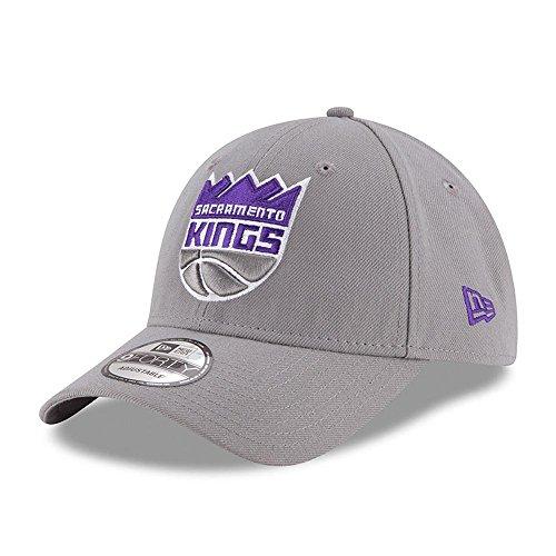 New Era Herren 9Forty Sacramento Kings Kappe, Grau, M