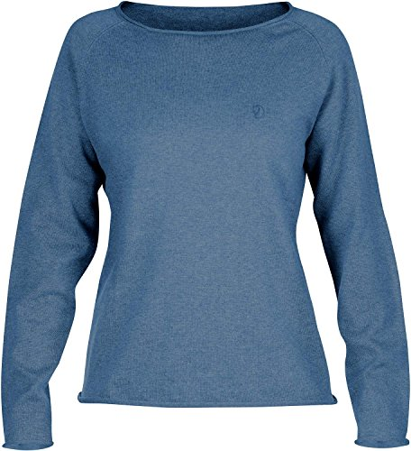 Fjällräven Damen Övik Sweater W. Pullover & Sweatshirts Blue Ridge