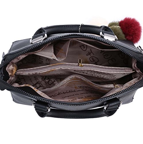 Borsa multifunzionale della borsa della donna può spingere i sacchetti stile di linea del pendente di Pampered di modo Pink