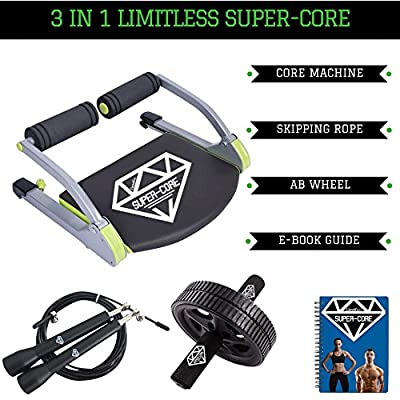 Limitless Super-Core Smart Total Body Exercise System Ab Toning Workout Fitness Trainer Home Gym Equipment Machine from Limitless Super-Core