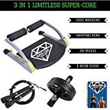 Limitless Super-Core Smart Total Body Exercise System Ab Toning Workout Fitness Trainer Home Gym Equipment Machine