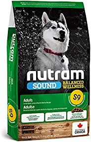 Nutram S9 Sound Balanced Wellness Adult Dog Food, Lamb 11.4kg