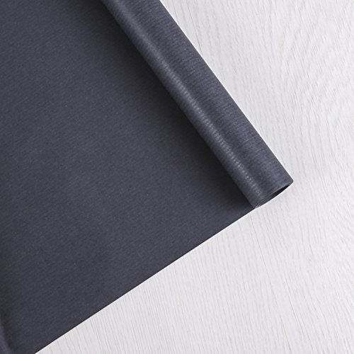 Sadipal 10622 - Papel kraft, 1 x 25 m, color negro