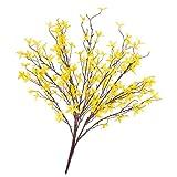 Künstlicher Forsythienbusch mit 5 Zweigen, gelb, 60 cm - Kunstpflanze / Künstliche Blume - artplants