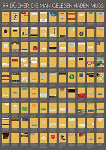99 Bücher, die man gelesen haben muss: Eine Leseliste zum Freirubbeln 2