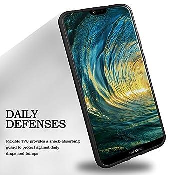Huawei P20 Pro Hülle Silikon, Kingshark Tpu Schutzhülle Dünn Schlank Weich Flexibel Anti-kratzer Schutzhülle Abdeckung Case Cover Für Huawei P20 Pro - Schwarz 4