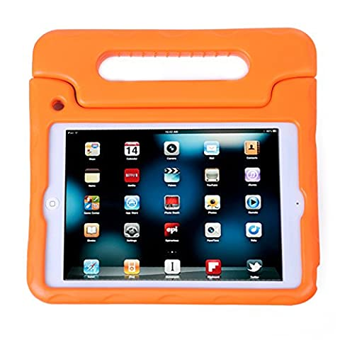 HDE iPad Mini Kids Case Shockproof Handle Stand Cover for Apple iPad Mini 2/3 Retina (Quilted
