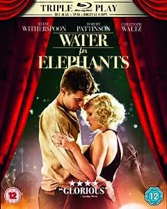 Water for Elephants - Triple Play (Blu-ray + DVD + Digital Copy)