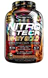 MuscleTech NitroTech Whey Gold, 100% Reines Whey, Double Rich Schokolade, 2510 g