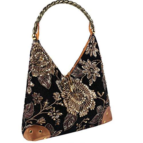 Nationalen Stil Abend Handtasche Art Und Weise Der Mutter Damentaschen Black