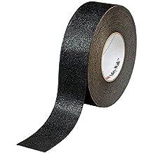 3M Safety-Walk Revêtement antidérapant grain moyen, Noir, 51 mm x 18.3 m