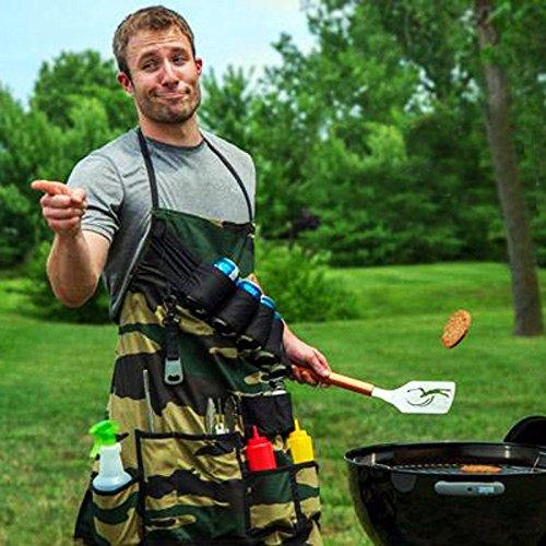 grembiule-da-barbecue-verde-militare-porta-utensili-bbq-cuoco-chef-cucina
