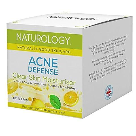 Naturology Acne Treatment Cream With Salicylic Acid – For Oily