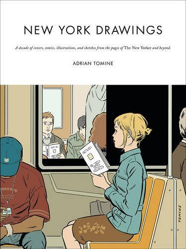 Portada del libro New York Drawings by Adrian Tomine (2015-11-05)