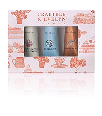 Crabtree & Evelyn Hand Therapy Sampler, 25 g, Pack of 3