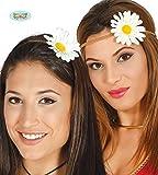 Banda de hippie hippie con flores