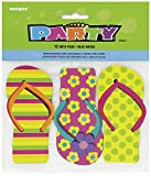 Unique Party Supplies Flip Flop Notizbücher Tütenfüller, 12 Stück