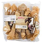 Howlers Natural Rawhide Knotted Bones...